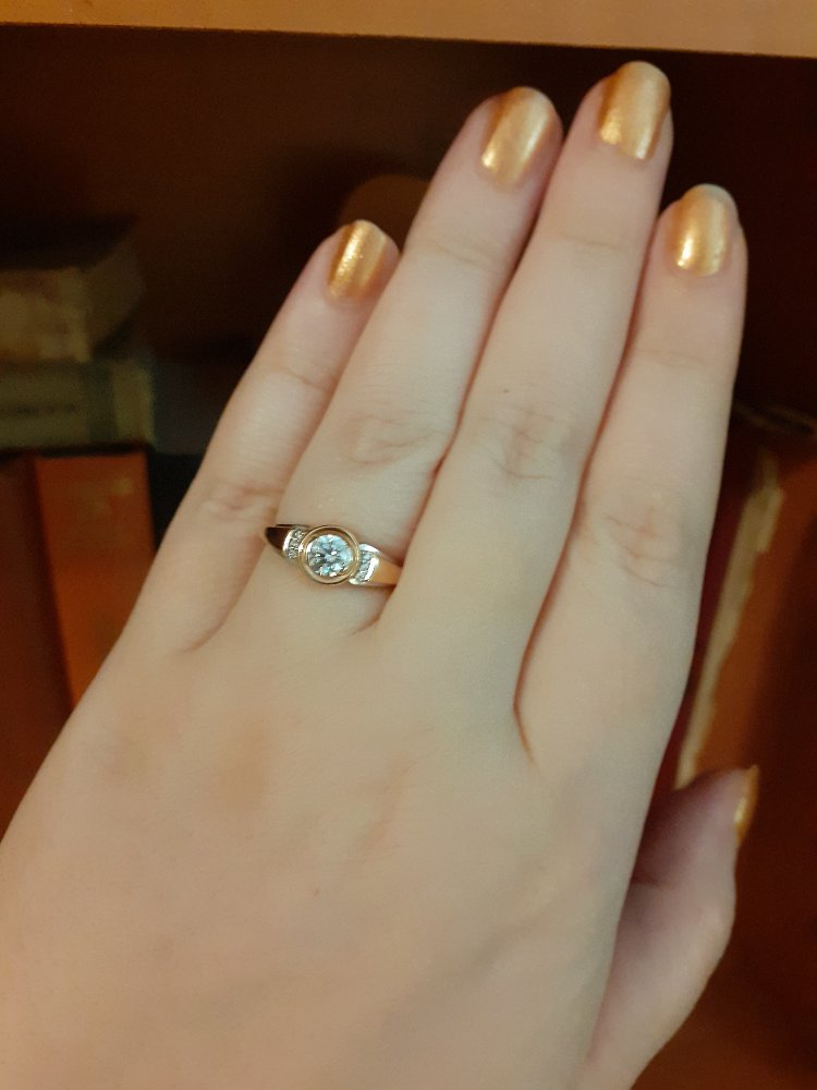 Купила кольцо через онлайн заказ и не пожалела