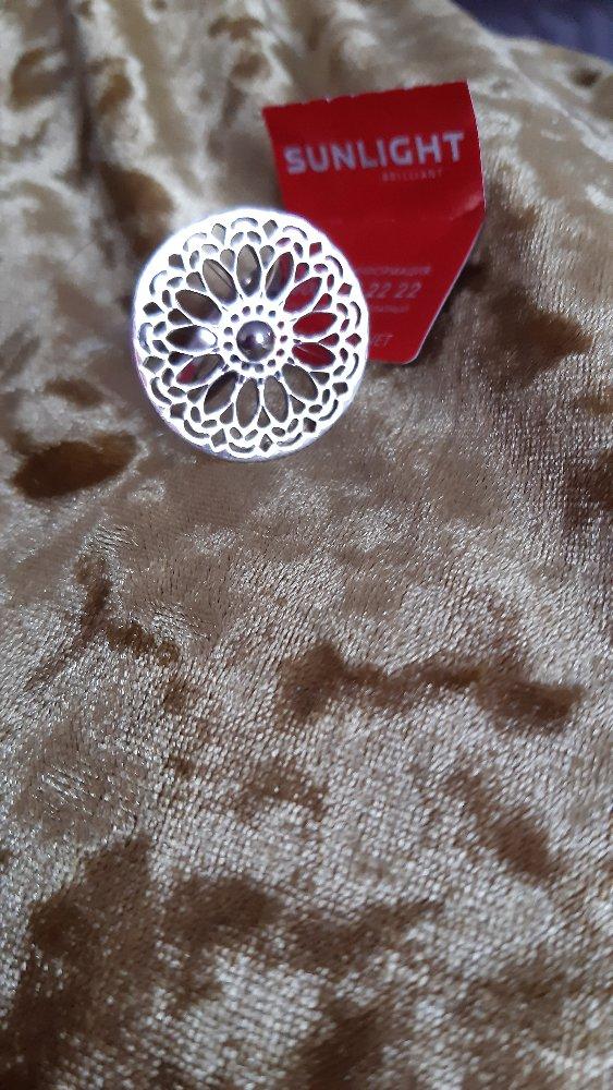 Круглое ,ажурное кольцо в стиле этно