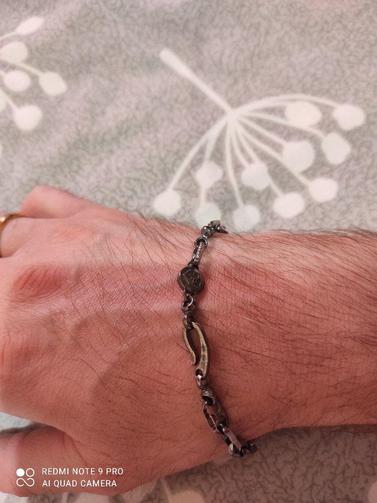 Клёвый, оригинальный, серебряный браслет!