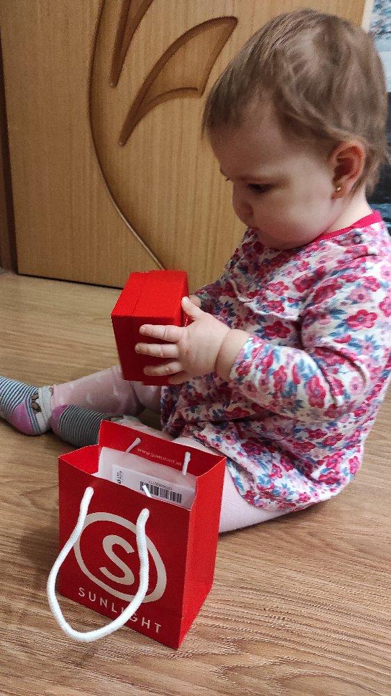 Первые серьги маленькой принцессе