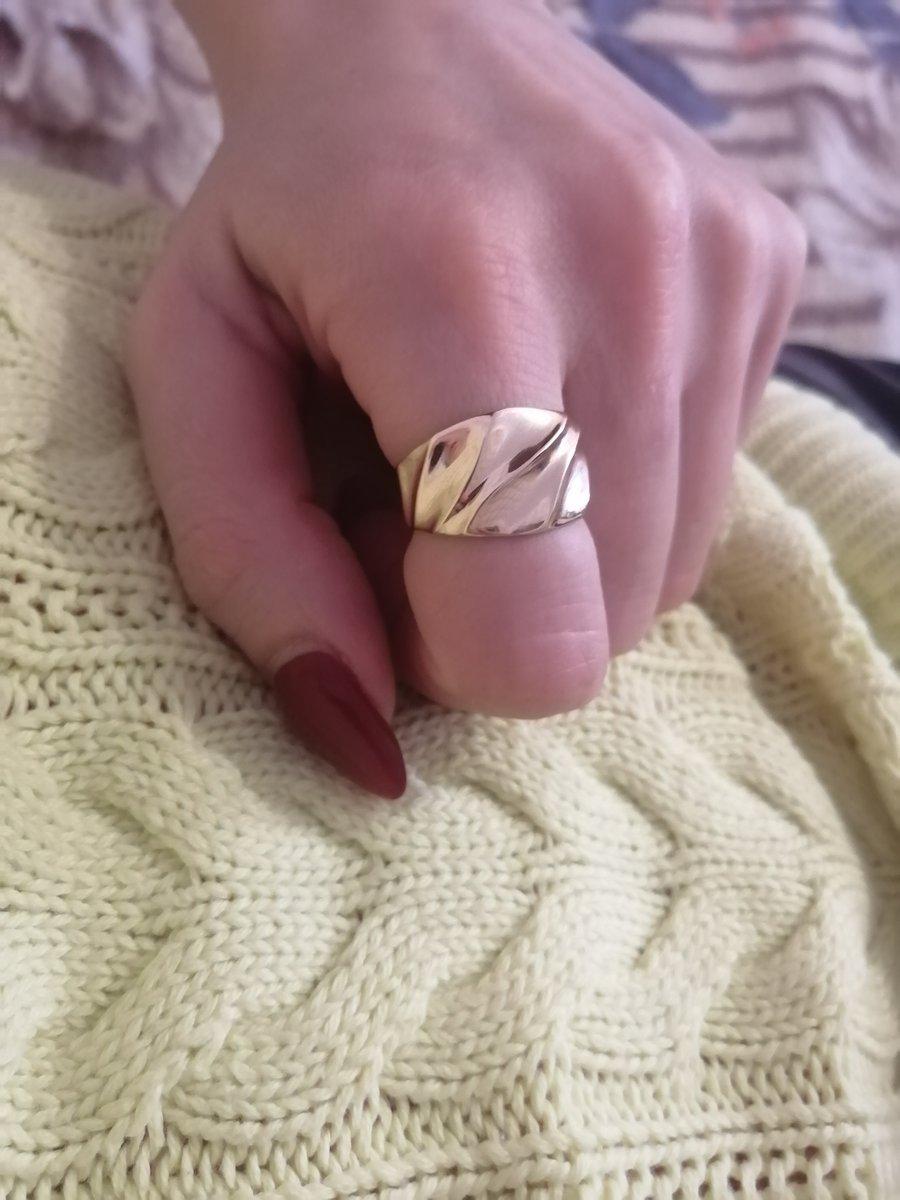 Кольцо без камней.