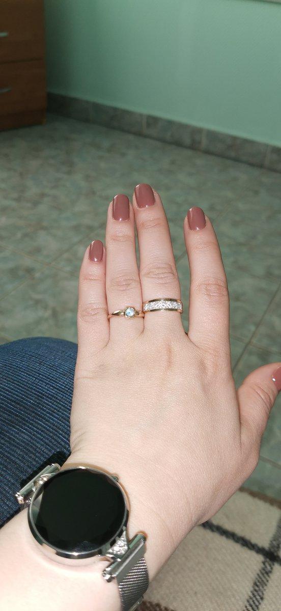Маленько, нежное кольцо.