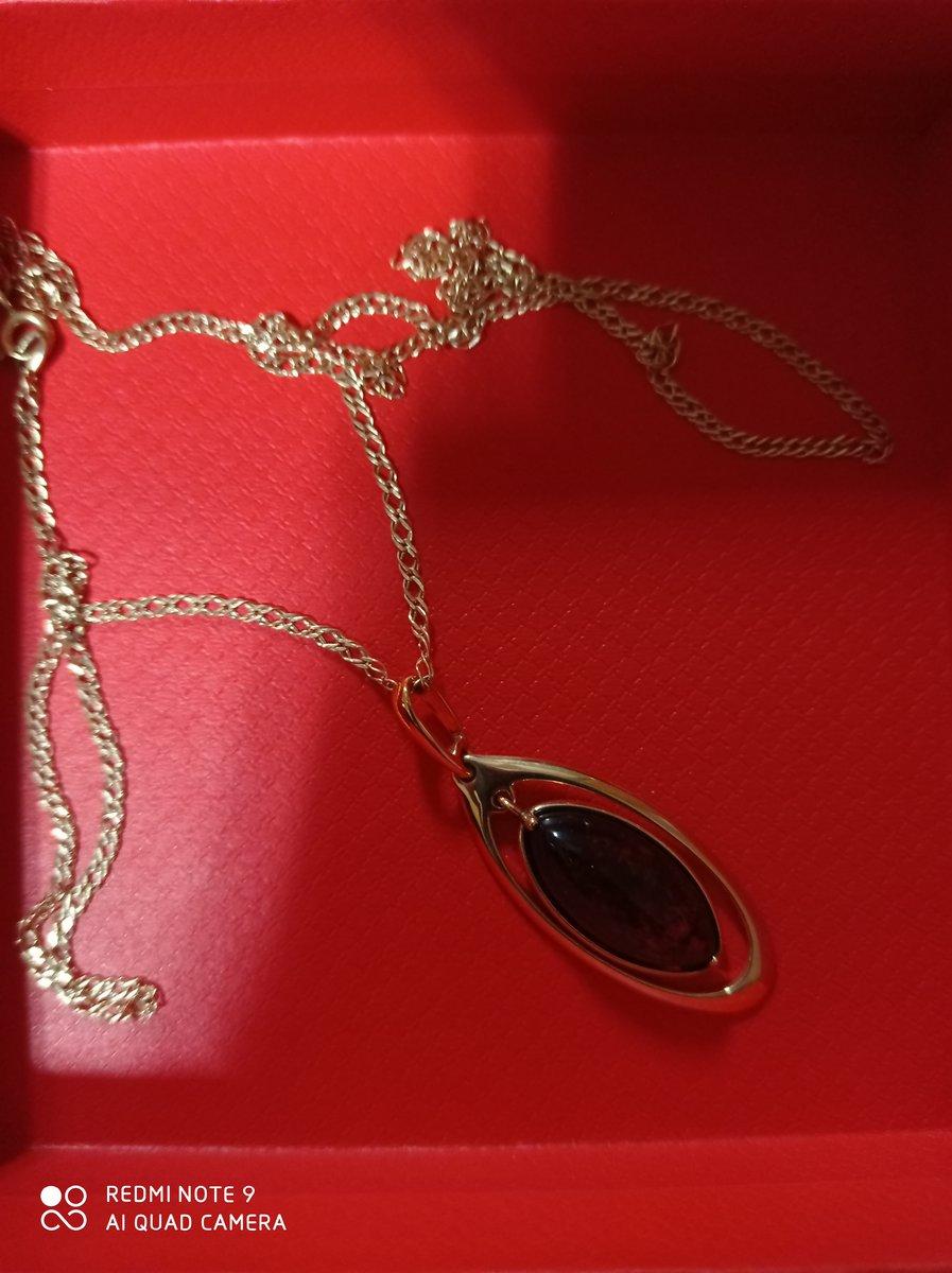 Я не давно купила цеп золотое а кулон хотела болшое. камен янтар люблю.