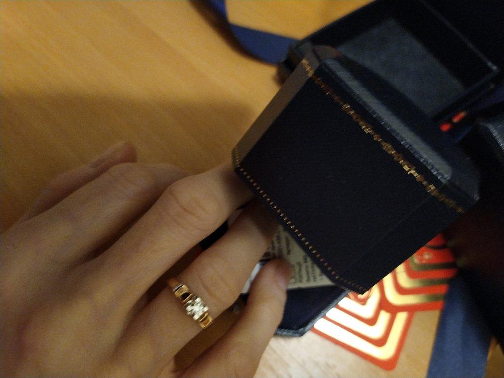 Мой бриллиантик от моего родного  бриллиантика мужа😍😘