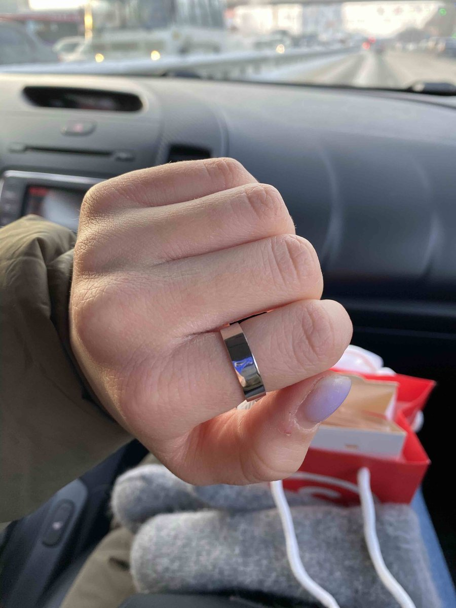 Кольцо превосходное ☺️