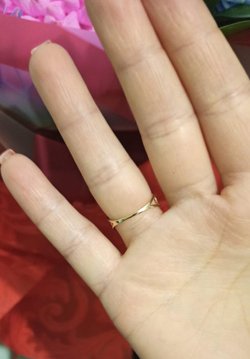 Кольцо золотое с брильянтами