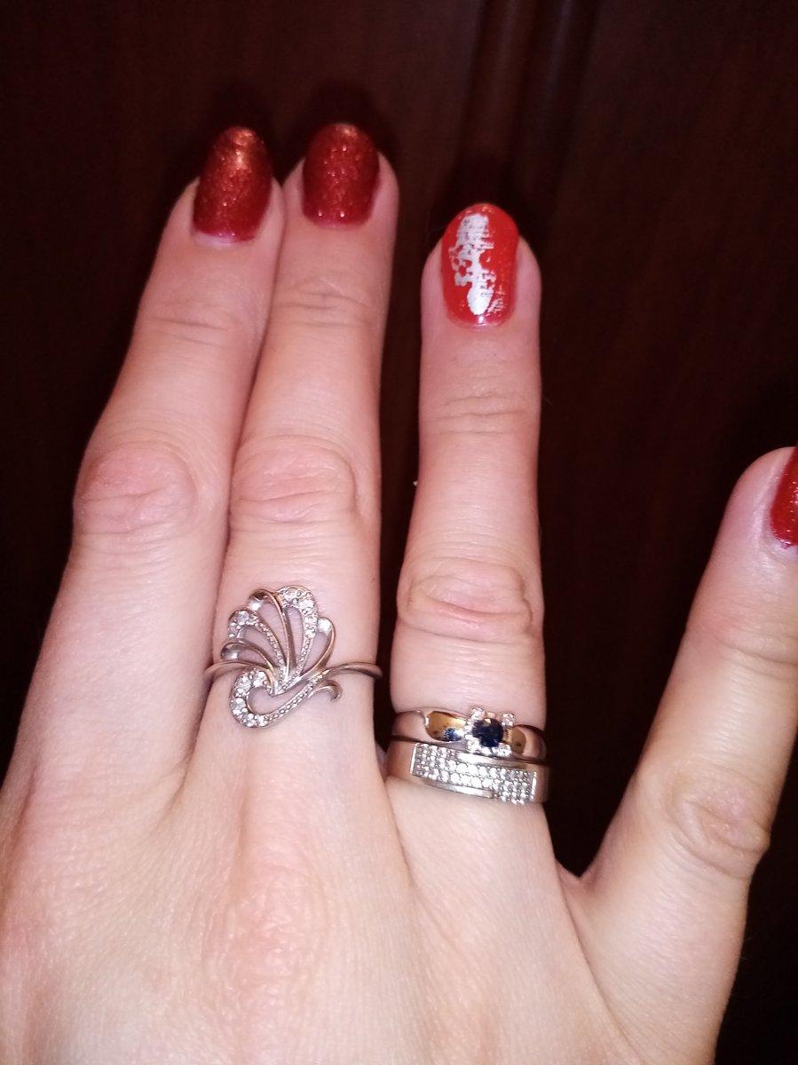 Кольцо с сапфиром-супер!!! 🥰