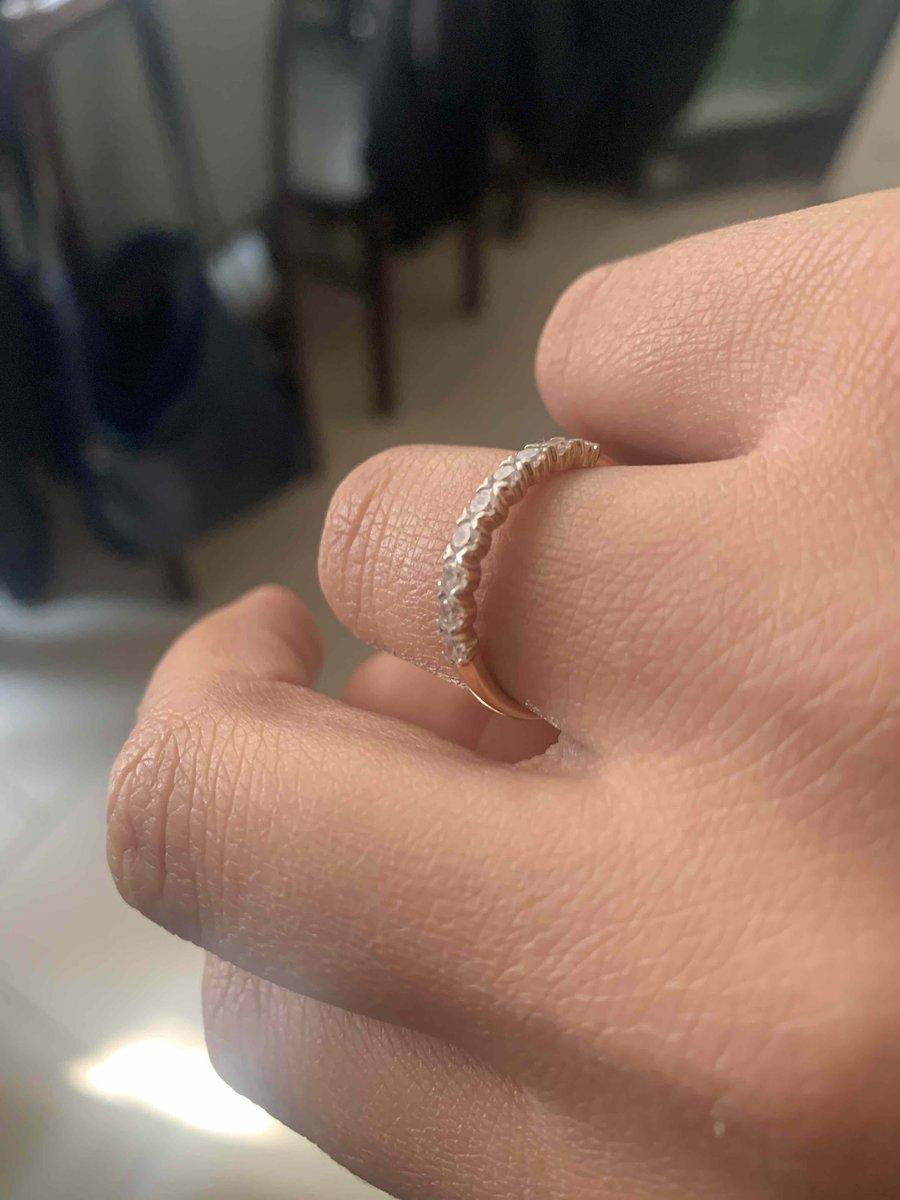 Мое маленькое нежное кольцо
