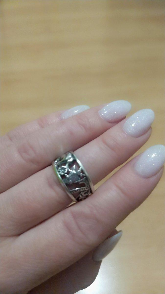 Кольцо с 7 символами удачи!
