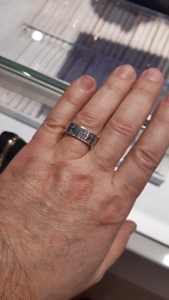Оригинальное мужское кольцо