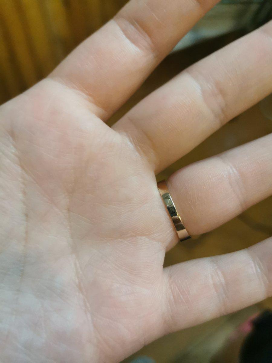 Любовь с первого взгляда это про это кольцо)
