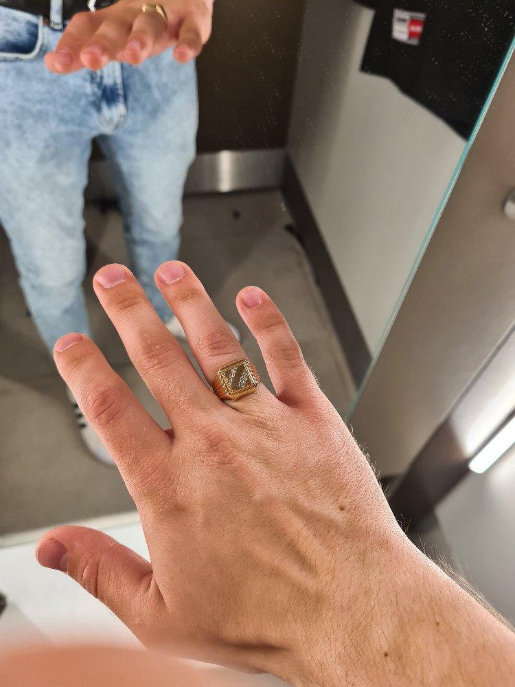 Перстень размер 18,5