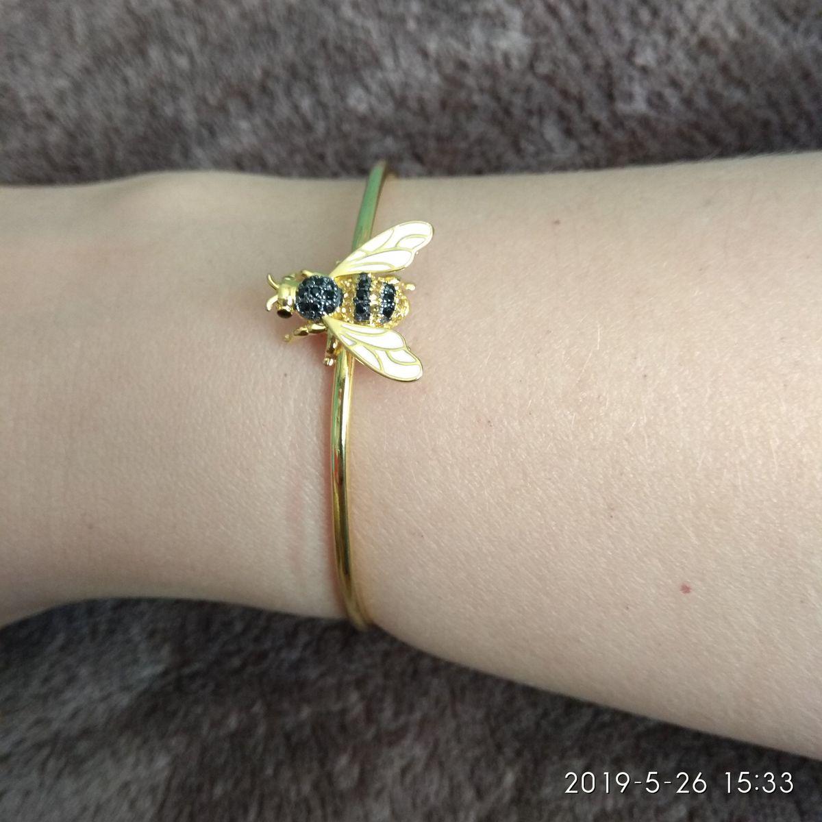 Браслетик с пчелкой