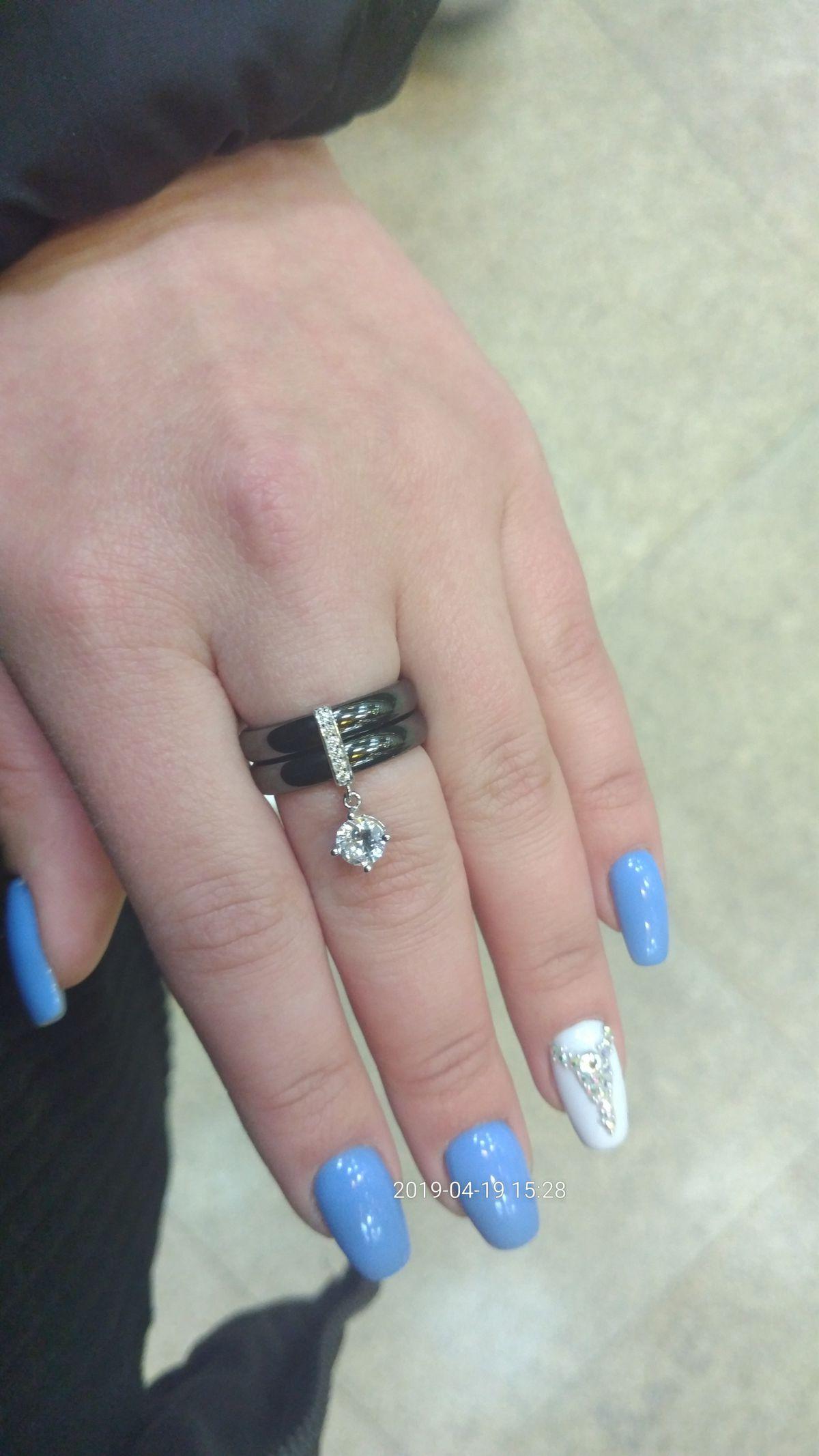 О покупке кольца!)