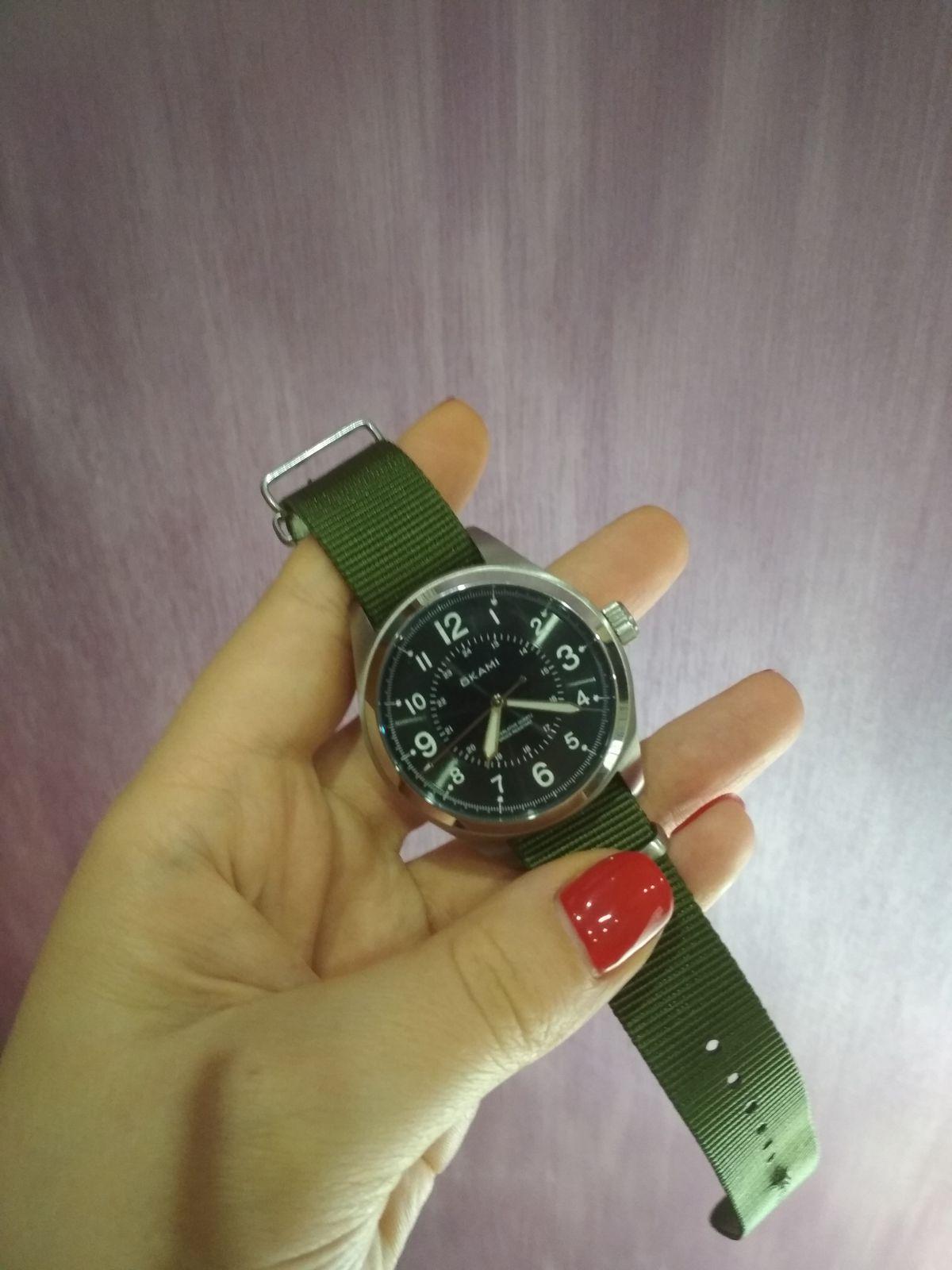 Часы мужу в подарок на 23 февраля!