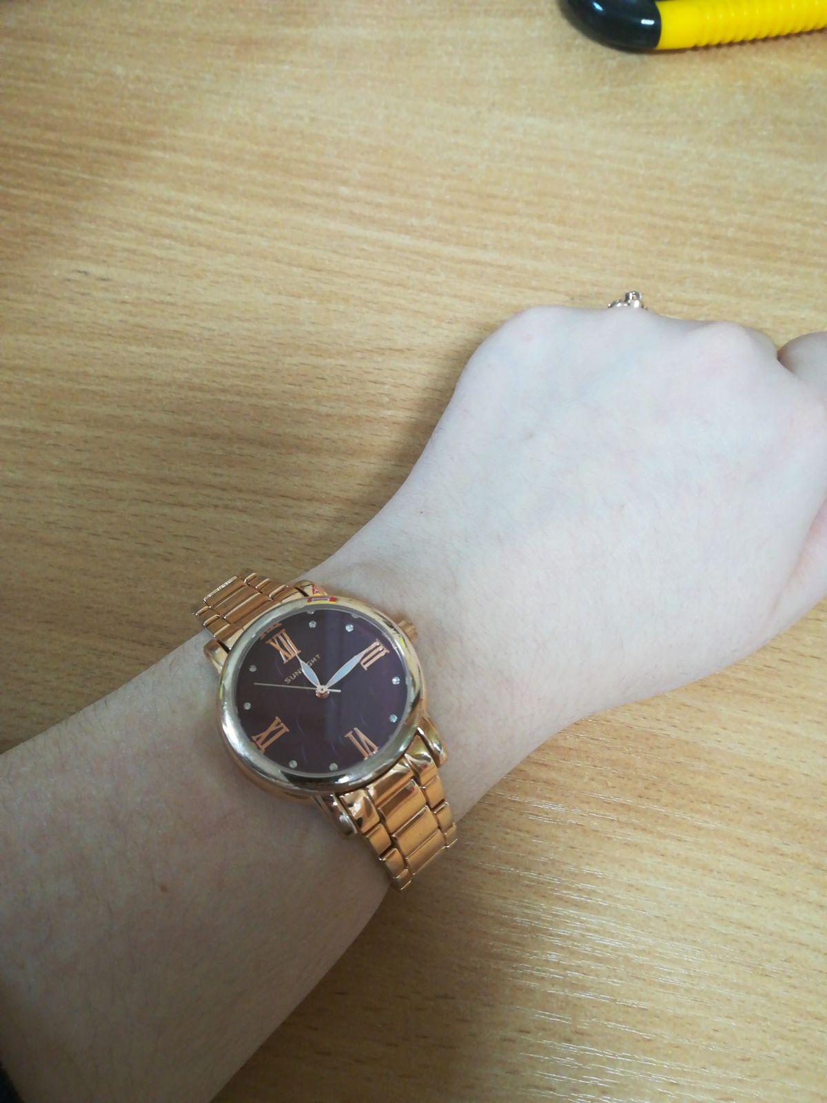 Стильные и красивые часы!