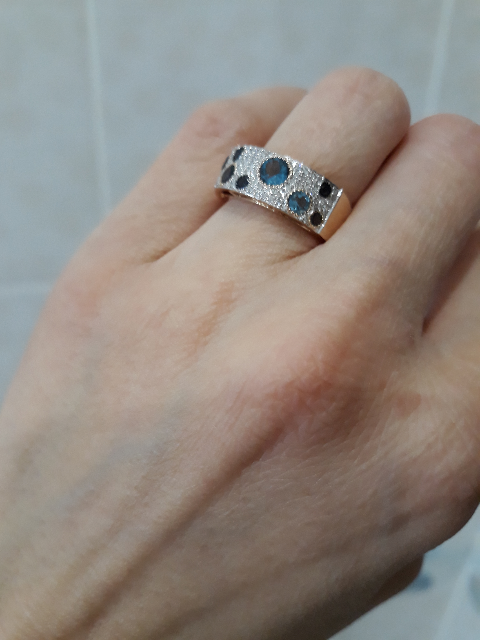 Супер  кольцо  к супер серьгам