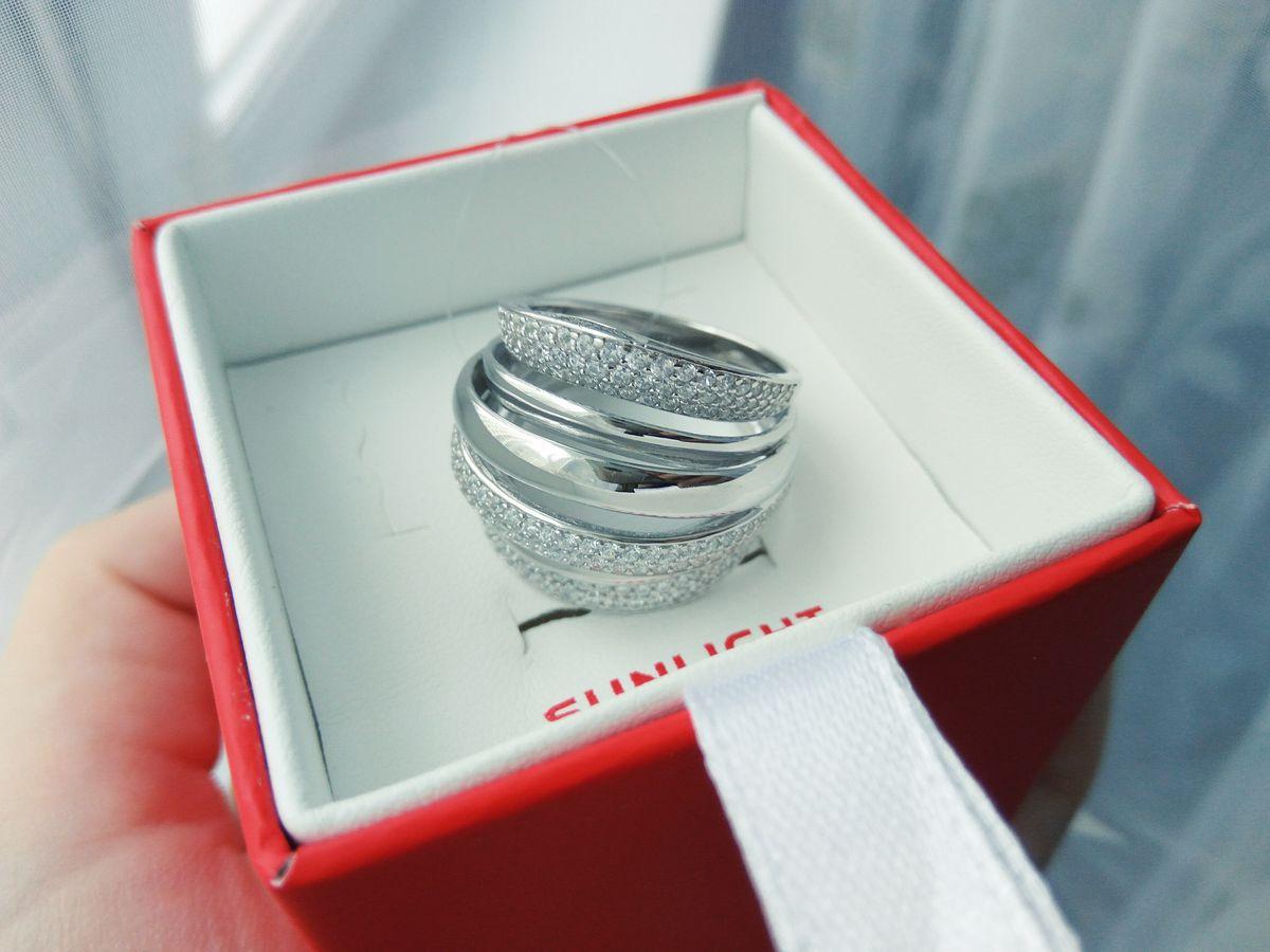 Изящное и солидное кольцо!