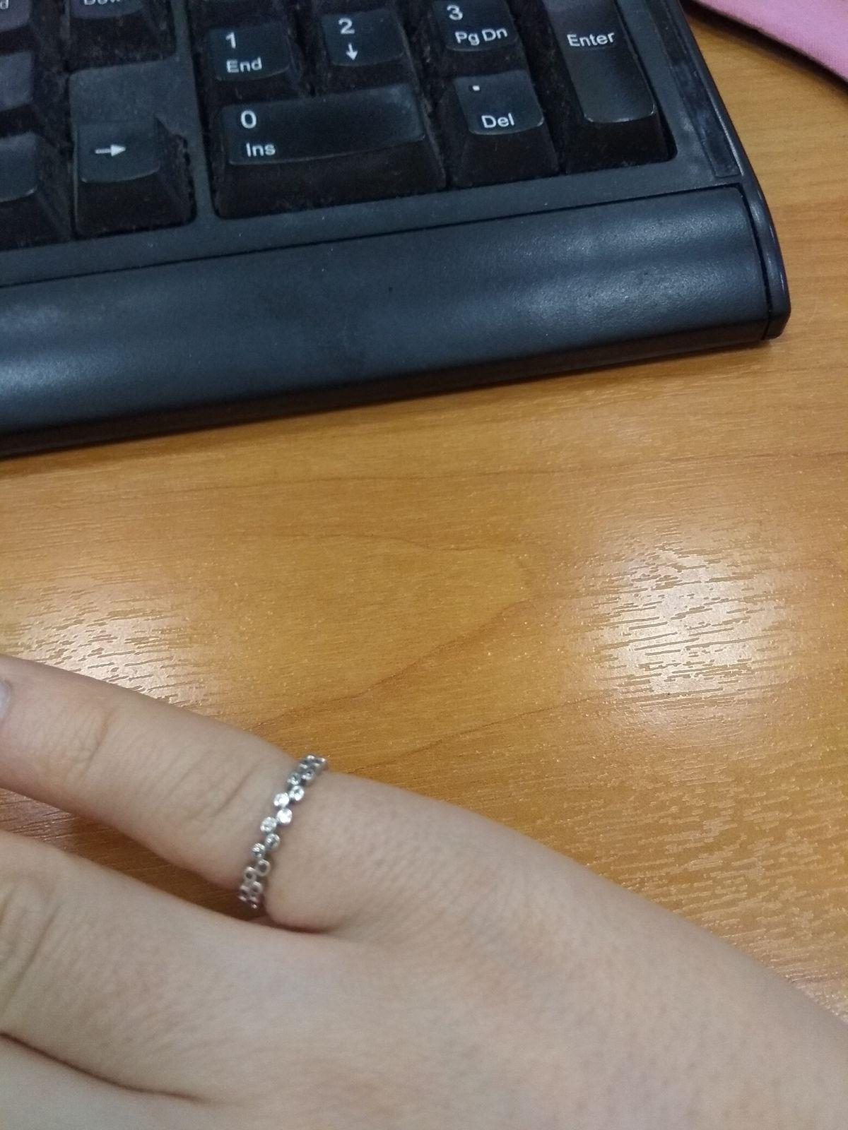 Кольцо на мизинчик