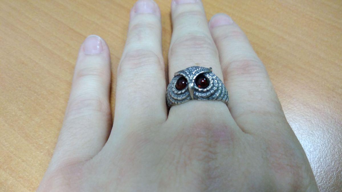 Совушка кольцо