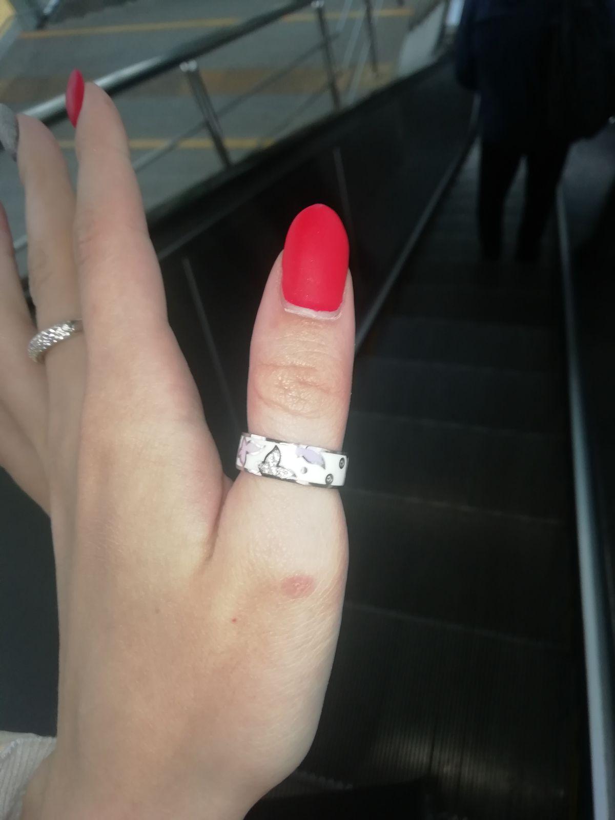 Кольцо Эмаль.