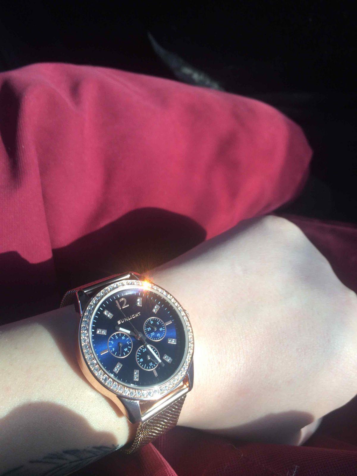 Прекрасные часы,с прекрасным ремешком.