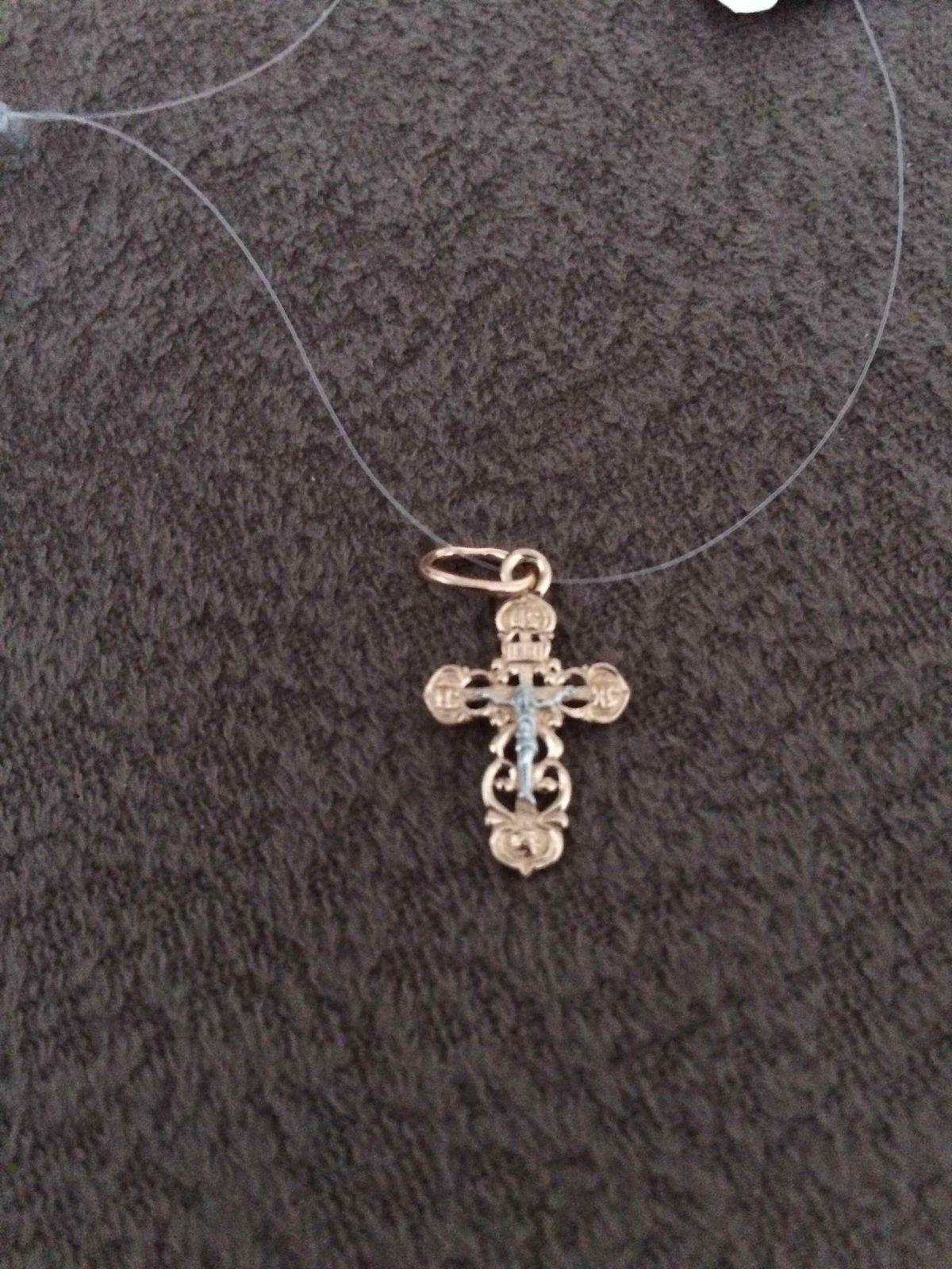 Крестик на крестины