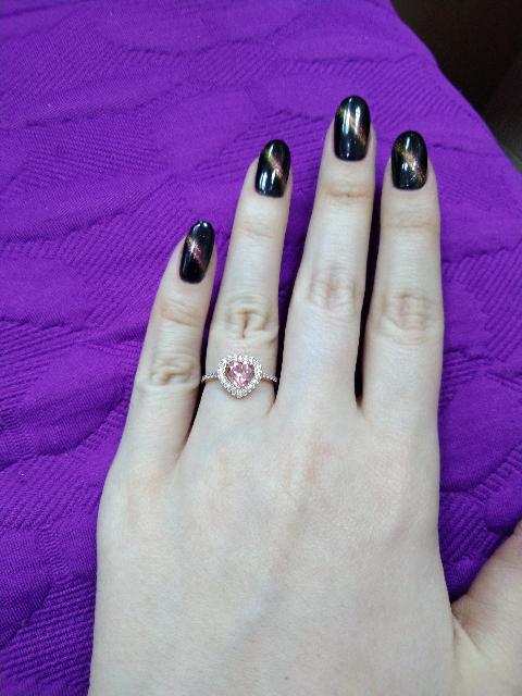 Кольцо для молодой девушки