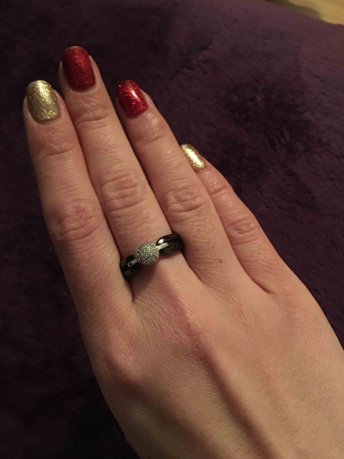 Шикарное кольцо !