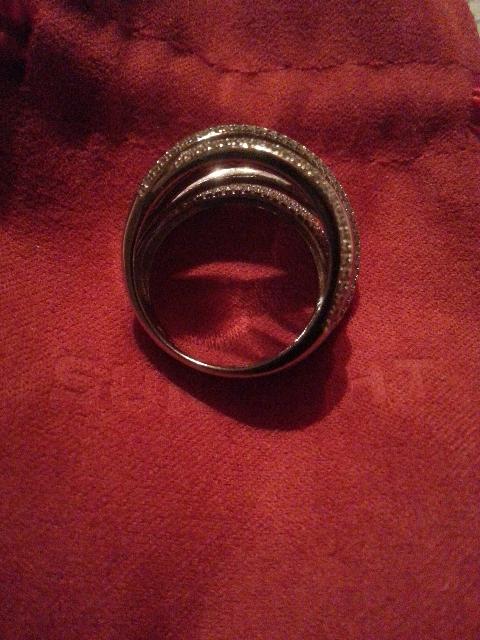 Современная классика из серебра. Кольцо на каждый день и на выход.