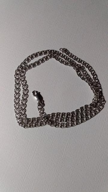 Цепь серебро 925, длина 55 см.