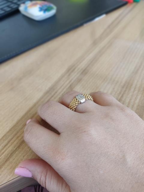 Кольцо с покрытием