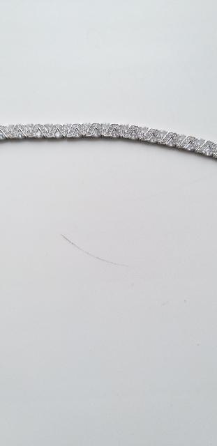 Купила  серебрянный браслет