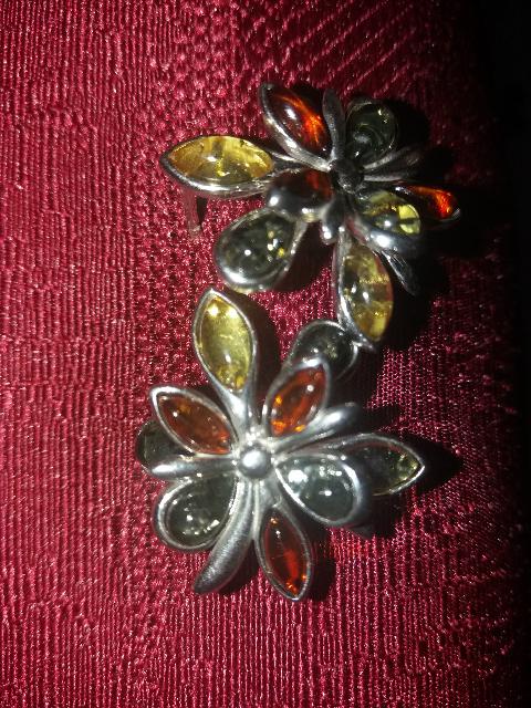 Классные, серебряные серьги