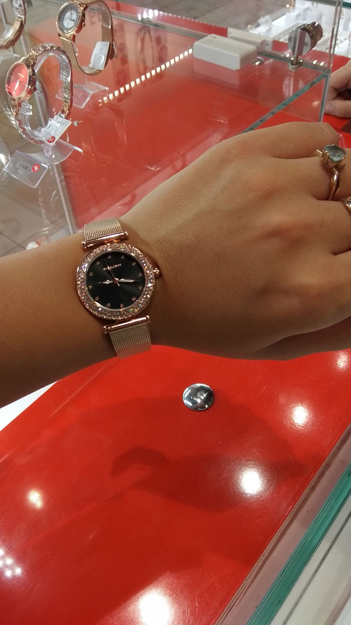 Крутые часы в санлайте