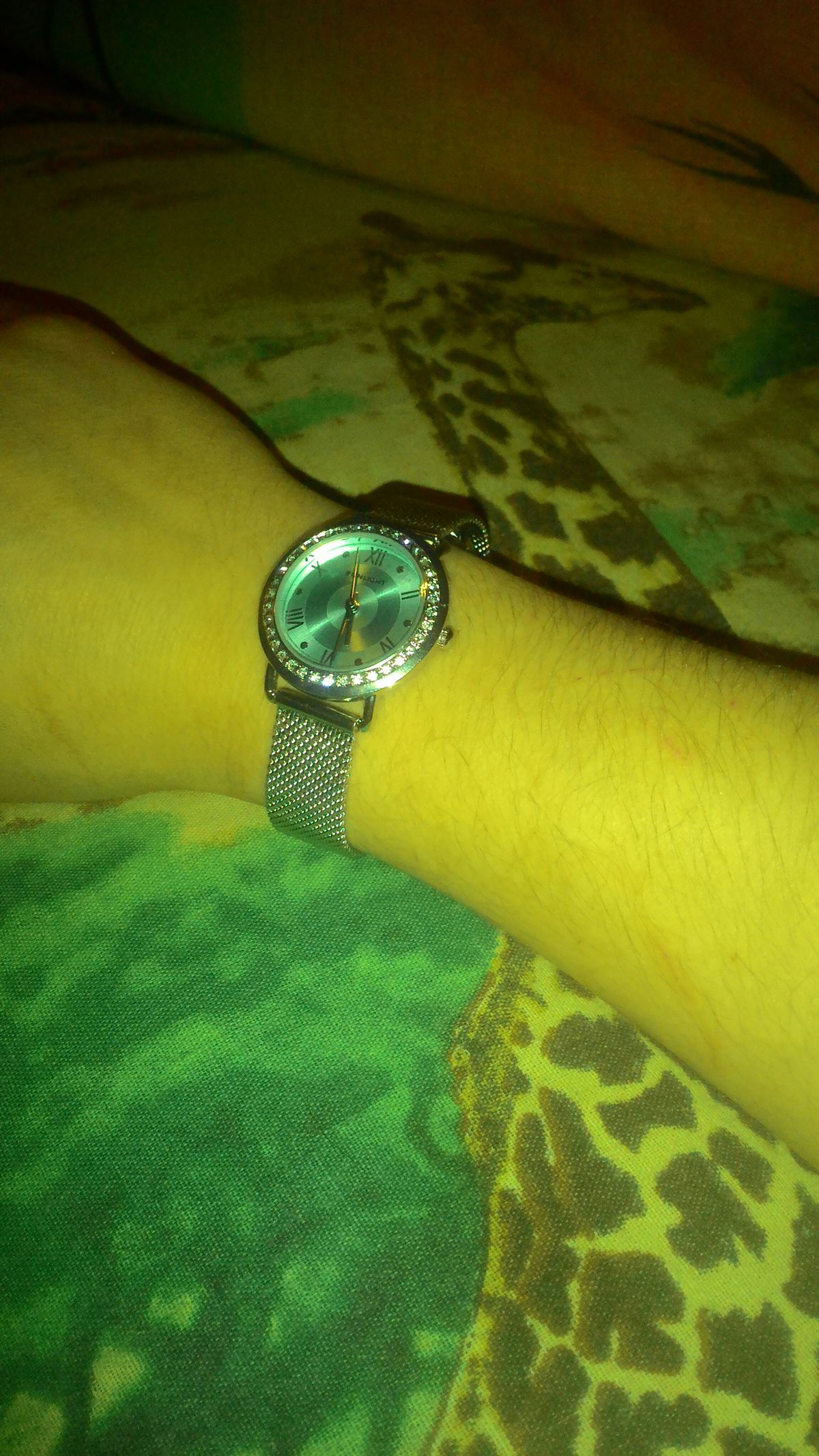Купила часы по скидки