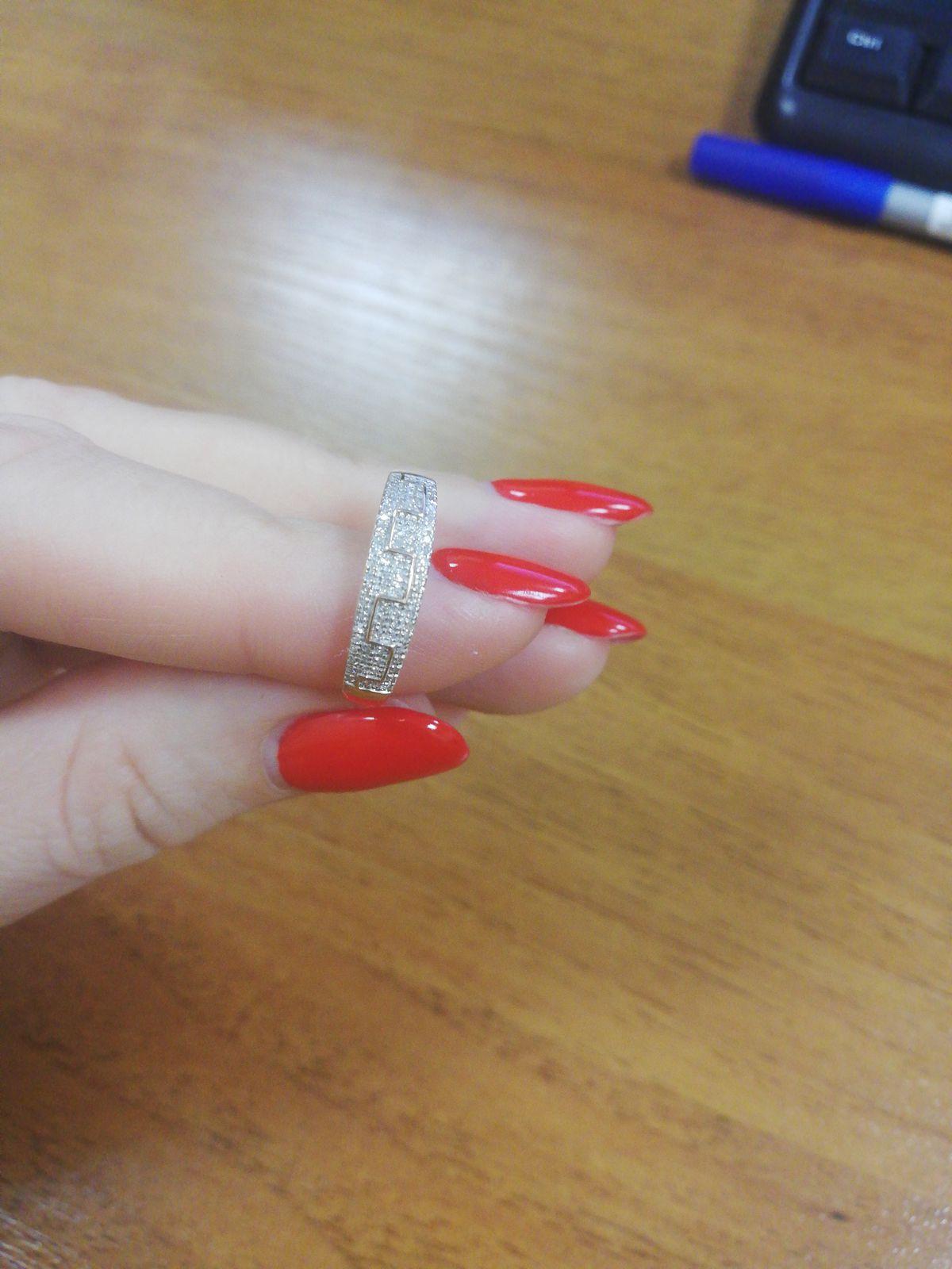 Купила набор серёжки и кольцо, но к сожалению кольцо не соответствует фото.