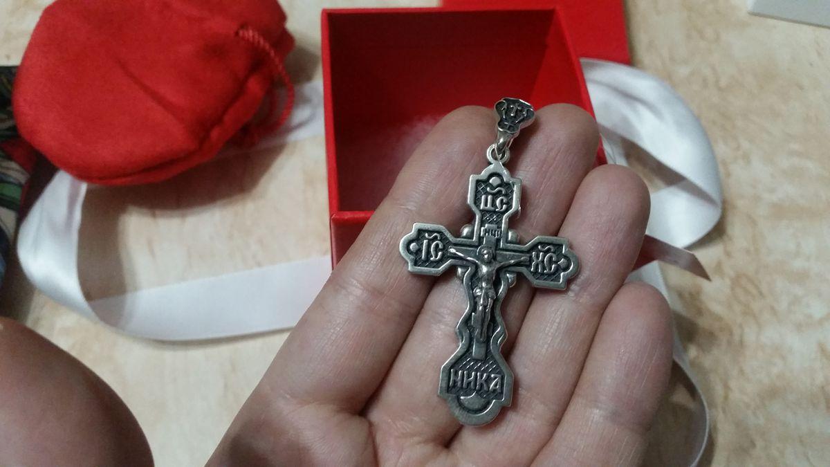 Крест в подарок на новый год :)