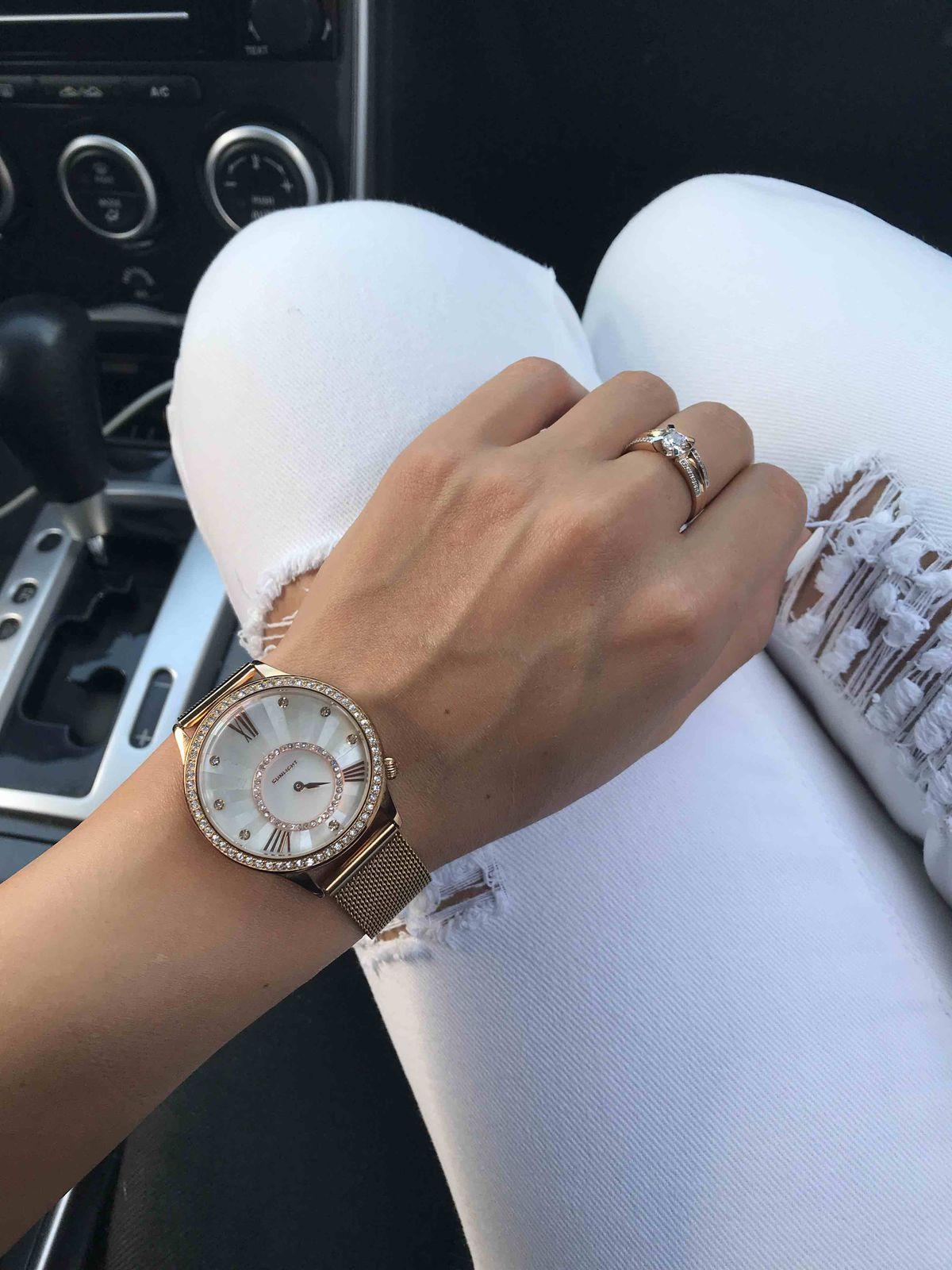 Часики просто нереальные 👌🏼 красивые , женственные. Для вороны как я ☺️🤗