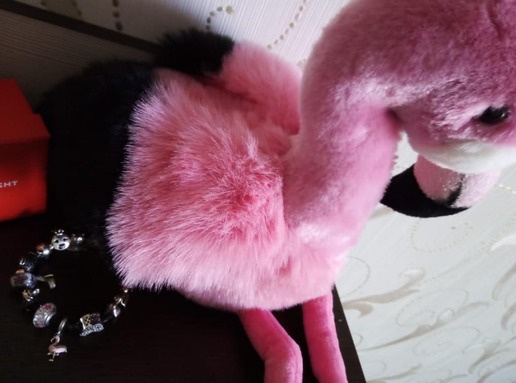 Шарм Розовый Фламинго