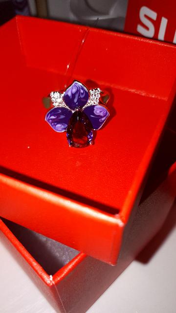 Кольцо - цветок