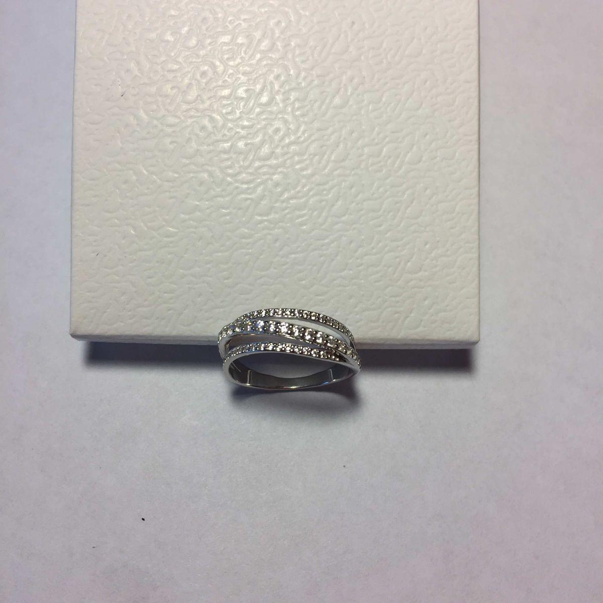 Серебряное кольцо,размер 17.5