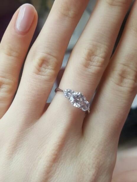 Красивое кольцо для дочери.