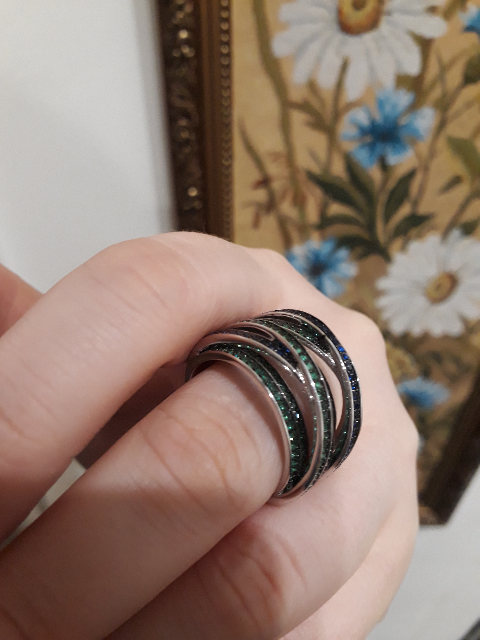 Павлинье кольцо.