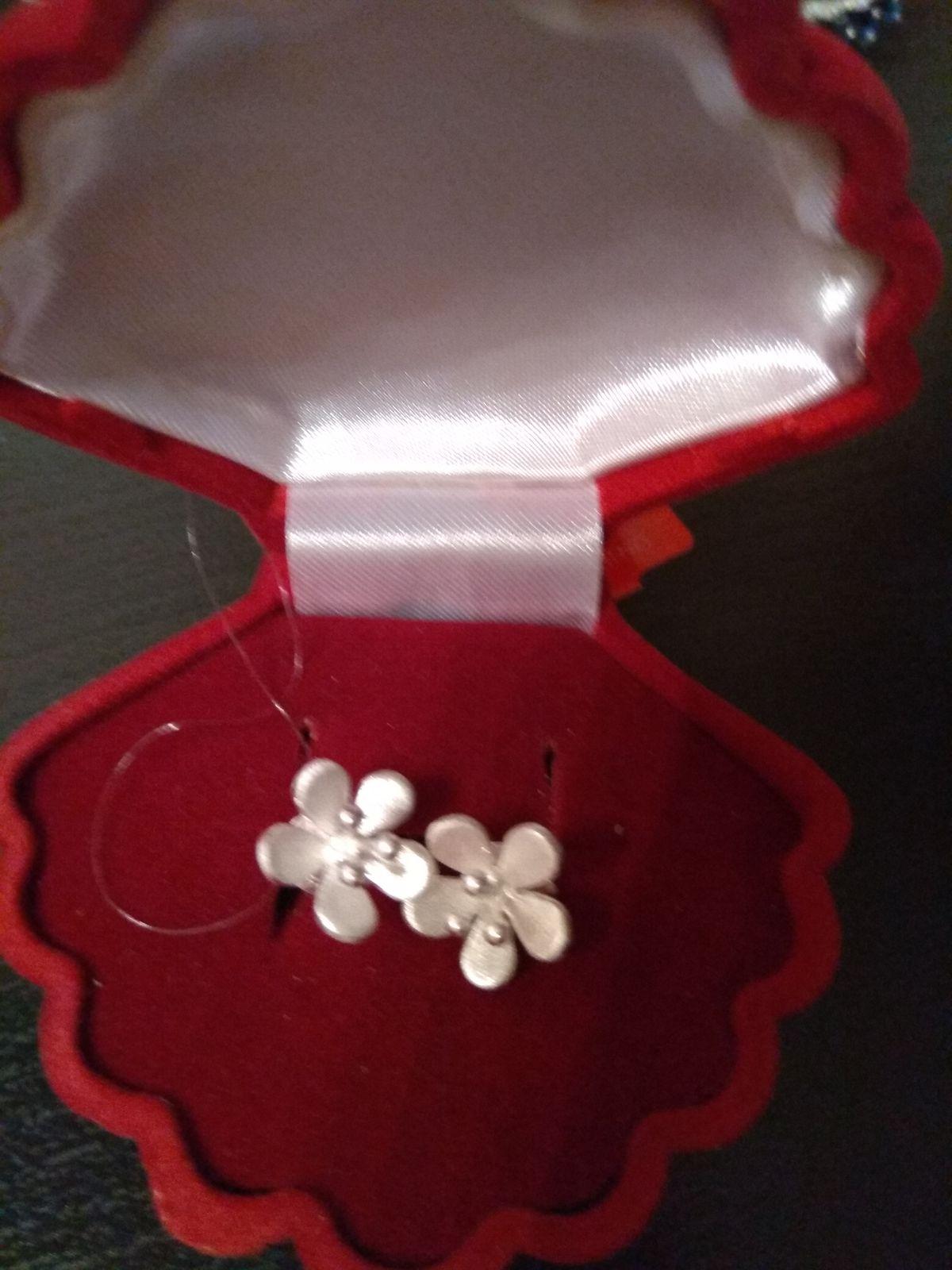 Милые сережки в подарок