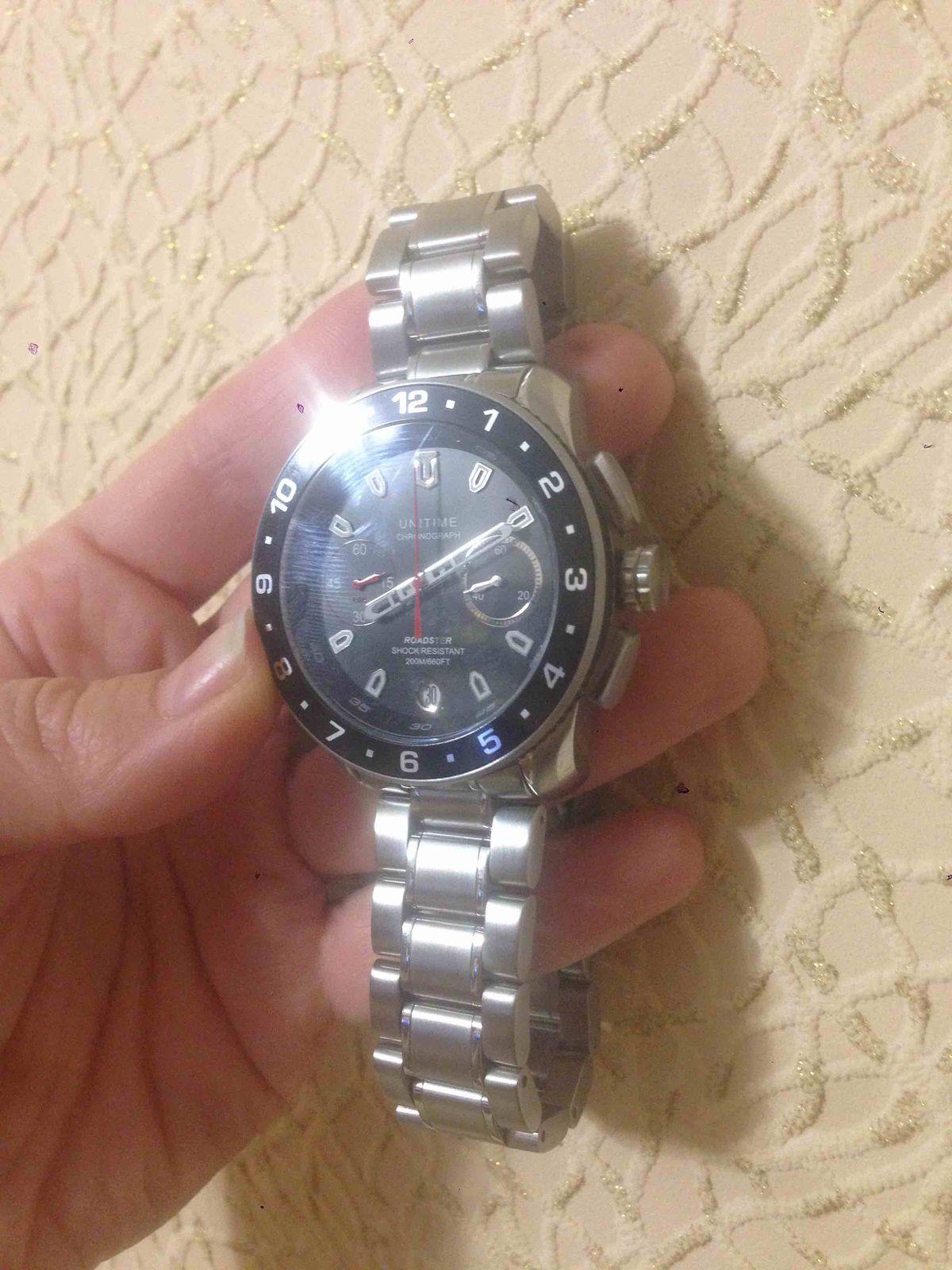 Стильные мужские часы!