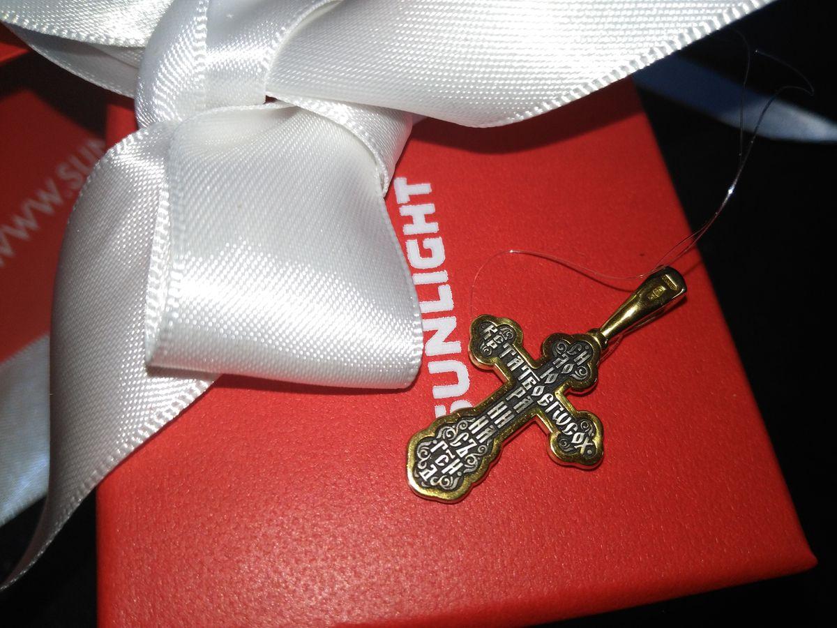 Красивый крестик для ребенка