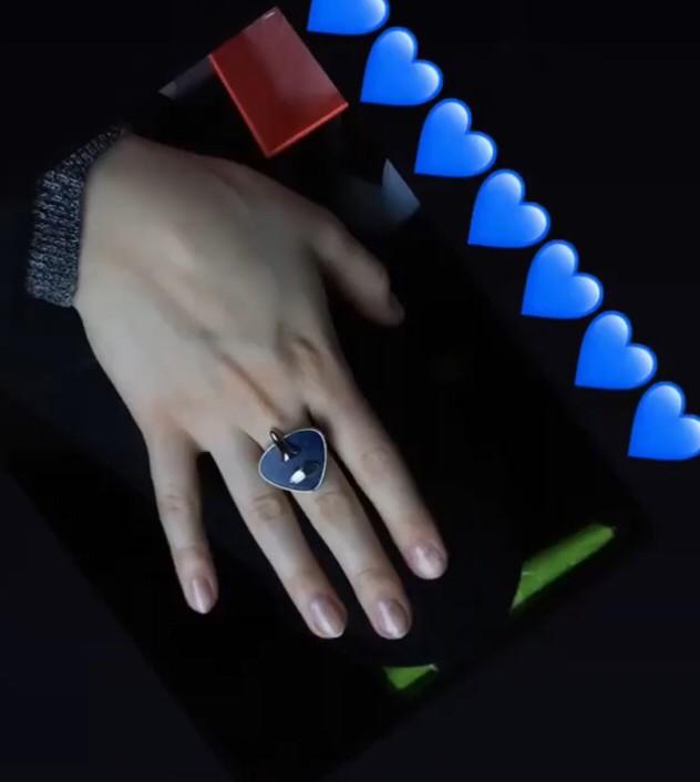 Это кольцо- любовь с первого взгляда !