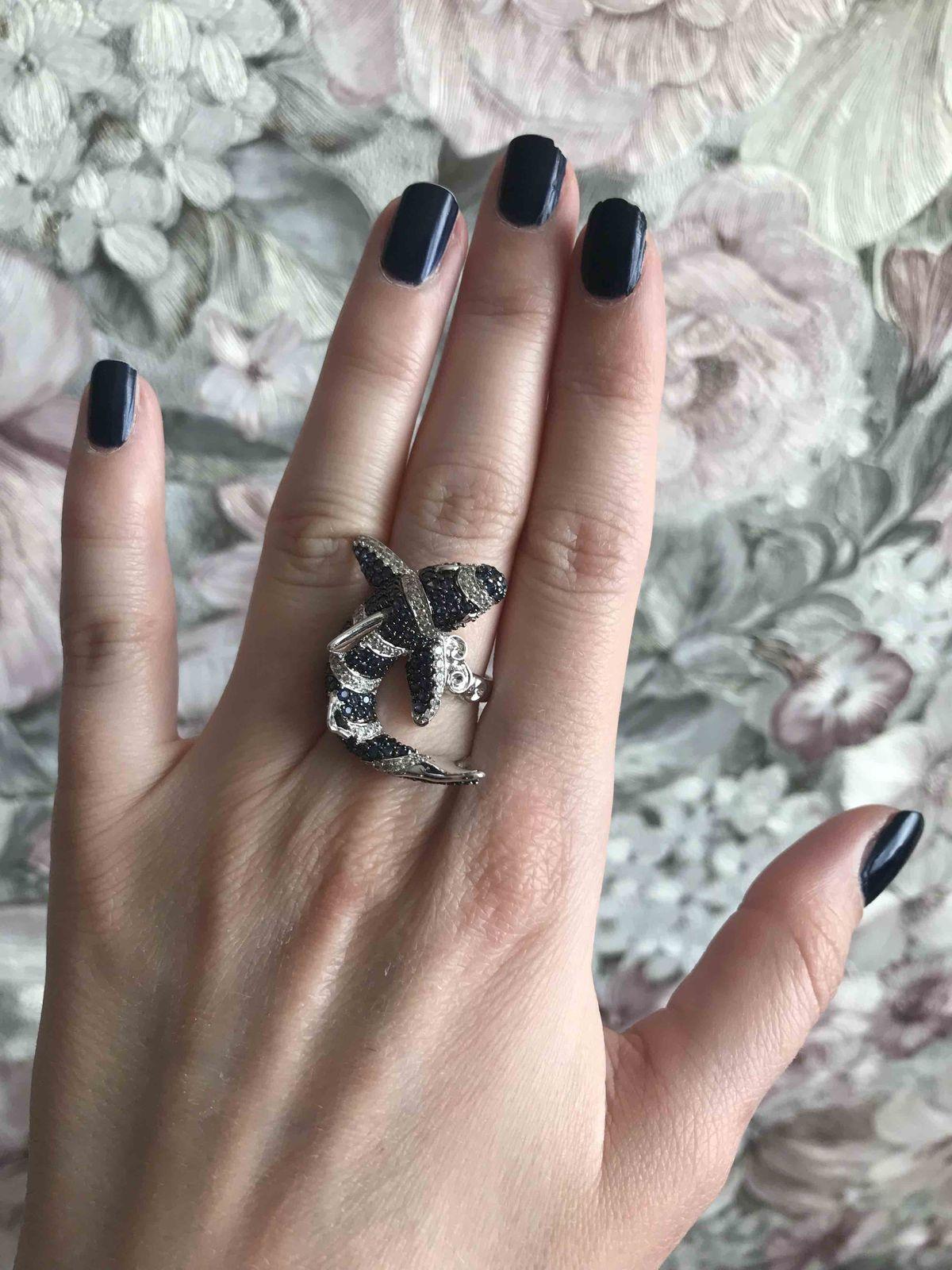 Кольцо «акула»