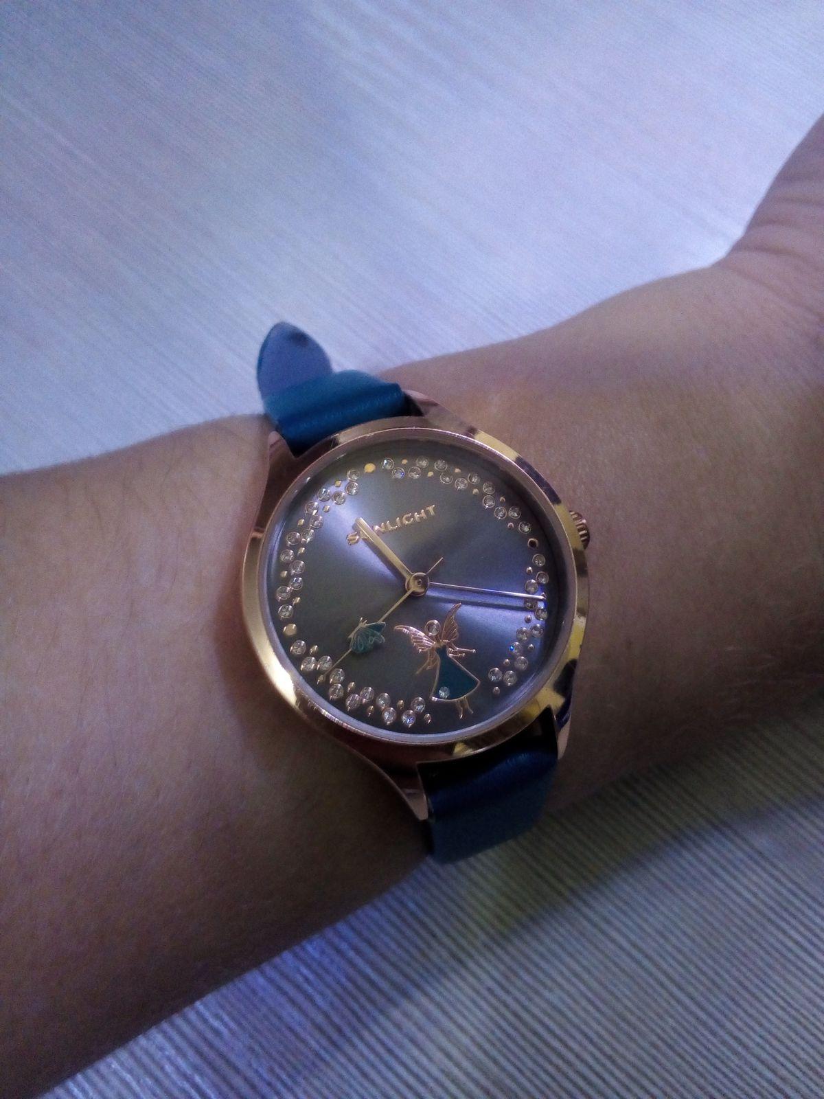 Часы с ангелом